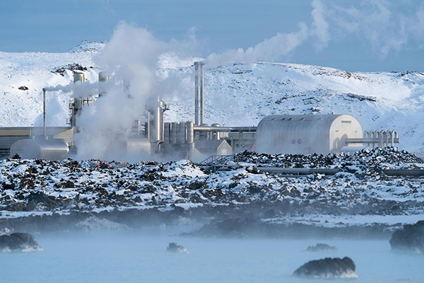 Geothermal Energy | Definition and Facts About How it Works - factory image