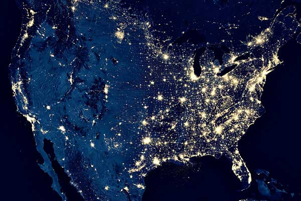 Deregulated Energy States | Power Grid