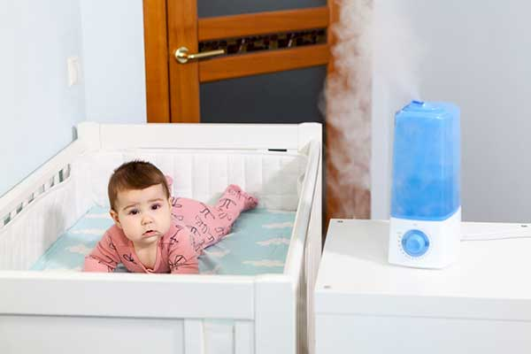 Mist Humidifier Warm or Cool for Room | Baby image